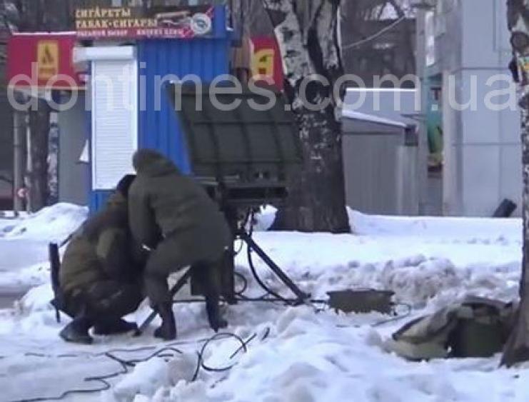Аистенок на службе ДНР