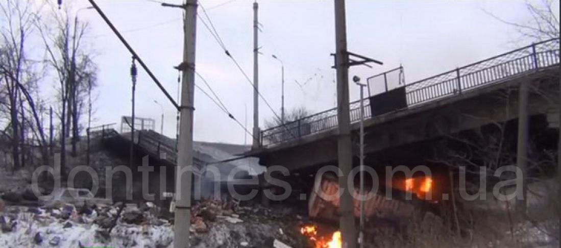 Разрушен Путиловский мост