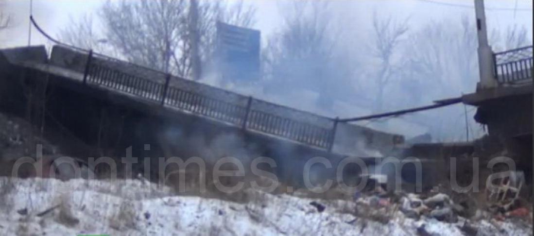 Путиловский мост. Разрушения