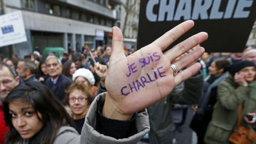 Я - Шарли Эбдо. Париж