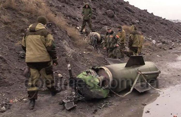 Ополченцы сбили украинскую ракету ТочкаУ под Луганском