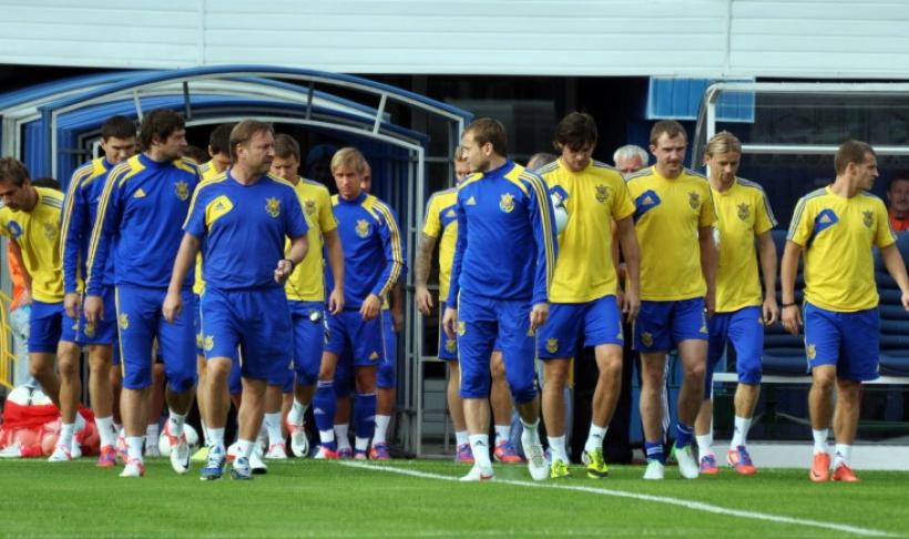 украинские футболисты