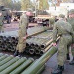 Военные прокладывают трубопровоод