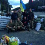 правый сектор блокпост киев