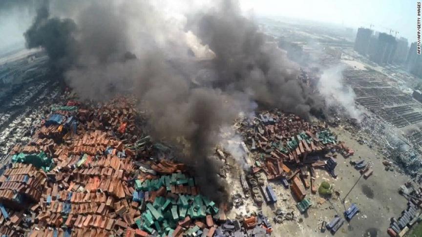 взрыв в китае2