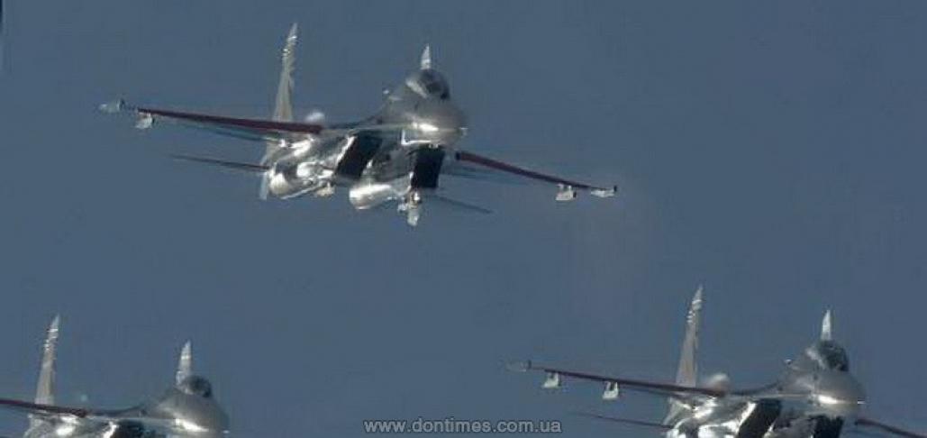 самолеты РФ сирия