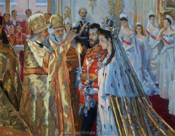 свадьба николая