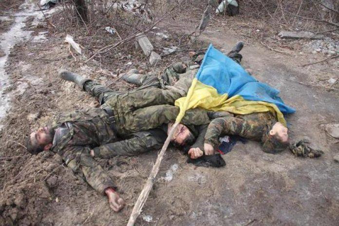убитые солдаты ВСУ