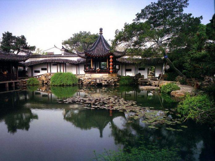Японский сад. Токио