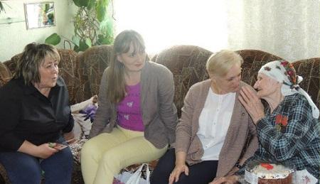 Жительница Горловки отметила 100-летний юбилей