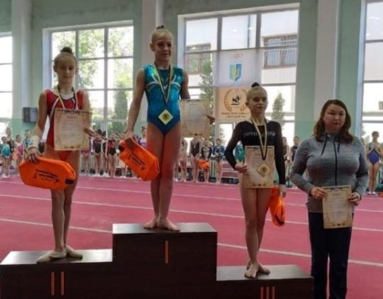 Чемпионка Украины из Краматорска