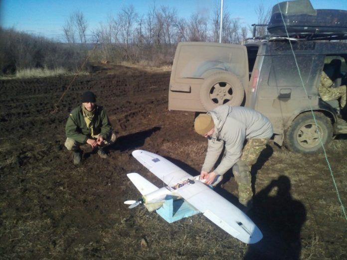Сбитый дрон ВСУ