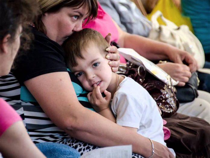 На Украине увеличилось число переселенцев