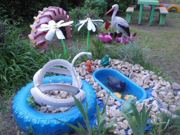В Краматорске был обнаружен уж на территории детского сада