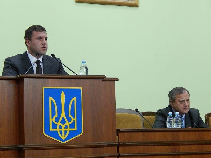 Заседание горсовета в Мариуполе