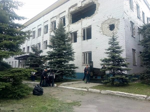 Субботник в Марьинке