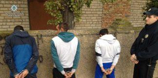Задержание несовершеннолетних в Мариуполе