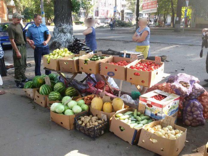 В Краматорске начинают бороться со стихийной торговлей на улицах