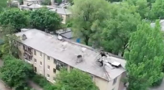 Украинск: жилая многоэтажка