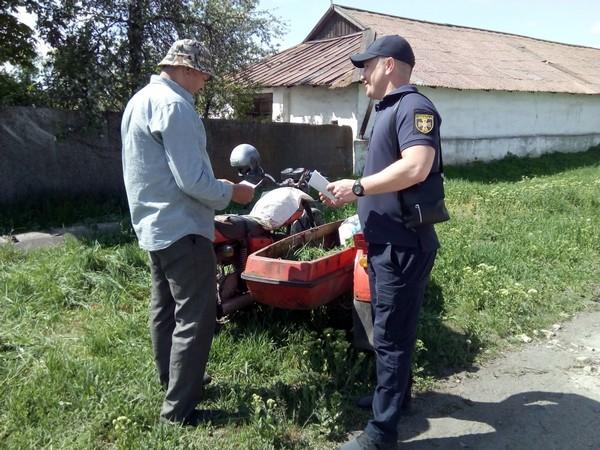 Полицейские провели с жителми Селидово профилактическую беседу
