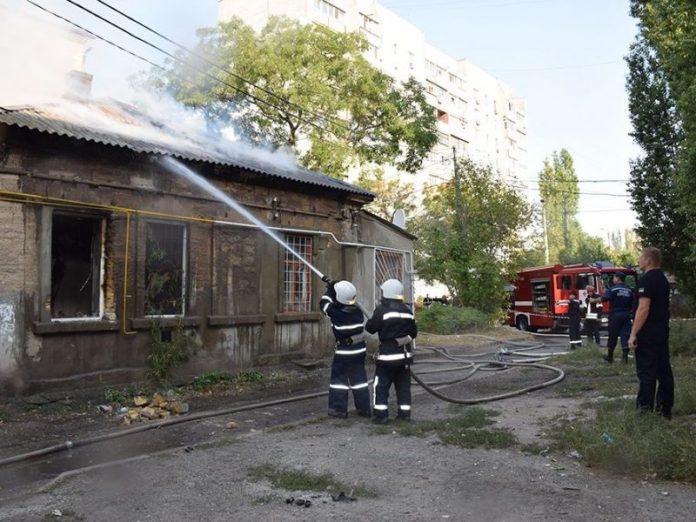 Взрыв в жилом доме на Донбассе
