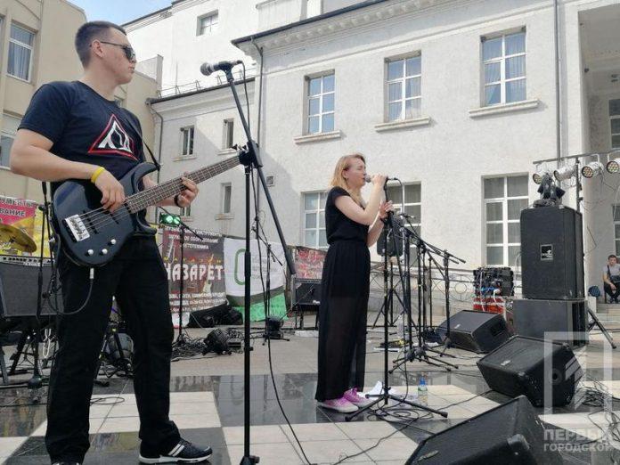 Фестиваль уличной музыки в Мариуполе