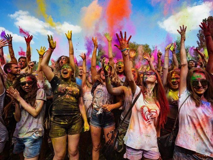 Фестиваль красок в Горловке