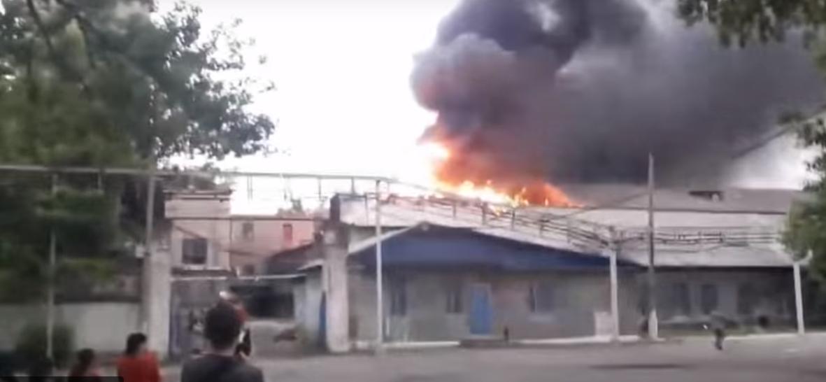 В Торецке на шахте «Северная» произошел пожар