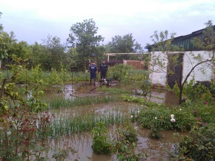 Наводнение в Донецкой области