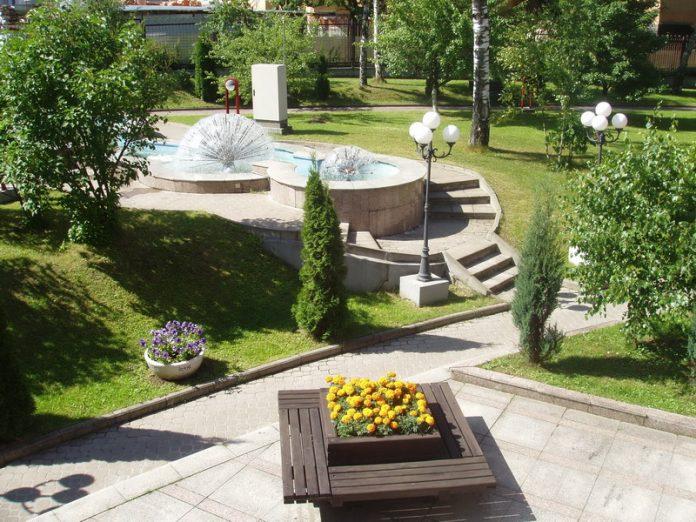Зеленые зоны в Славянске