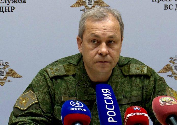 Басурин, представитель НМ ДНР