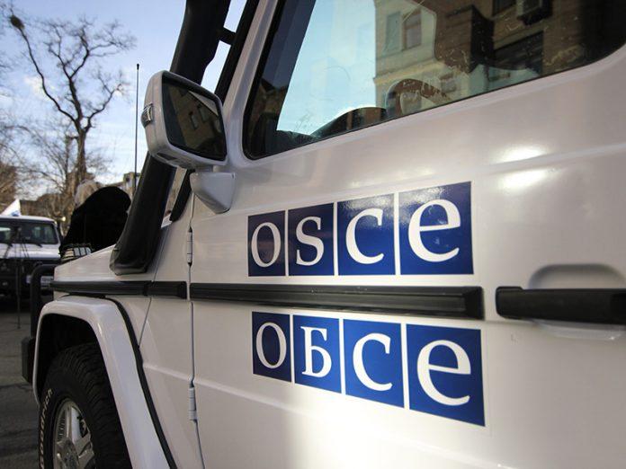 Обсрел ОБСЕ в Луганской области