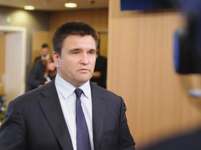 Климкин пожелал Л. Кучме удачи и успеха в переговорном процессе в Минске