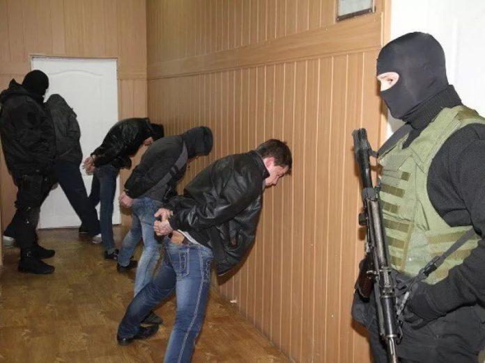 В Мариуполе задержана группа современных