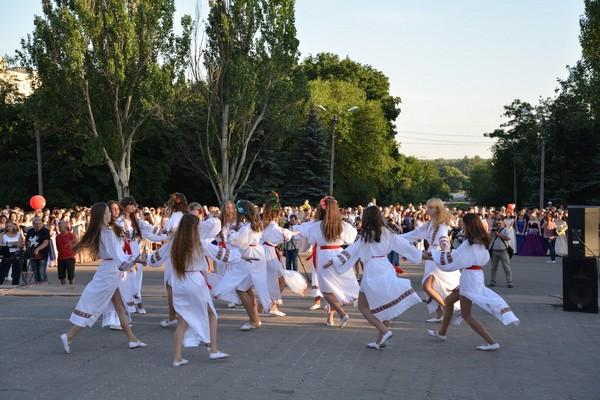 В Селидово прошел общегородской выпускной бал
