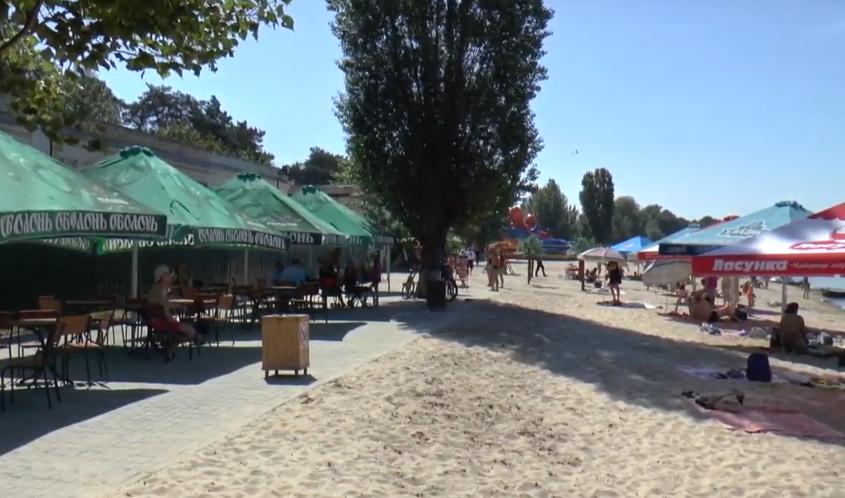 """Пляж """"Malibu"""" в Рубежном"""