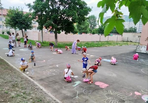 Детский праздник в Угледаре