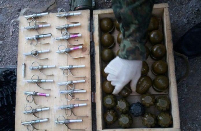 В Краматорске у местного жителя изъяли ящик с гранатами