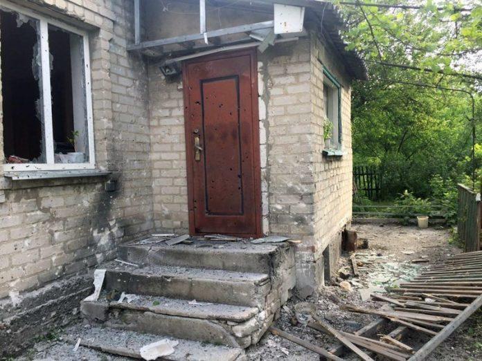 Жилые кварталы Авдеевки подверглись обстрелу