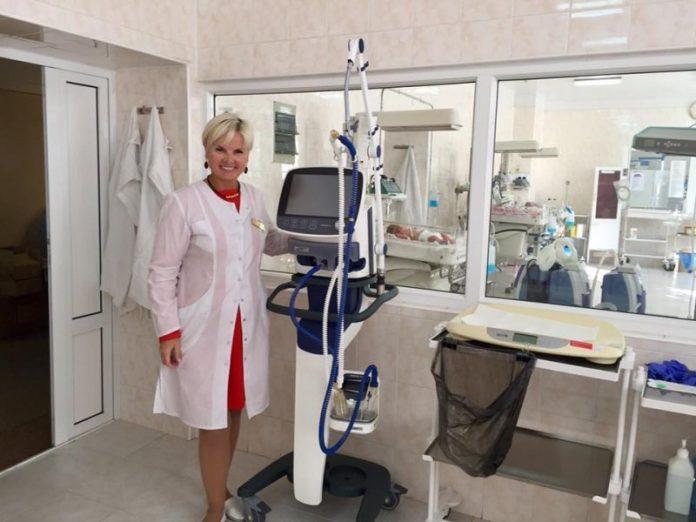 Перинатальный центр Краматорска получил новое оборудование