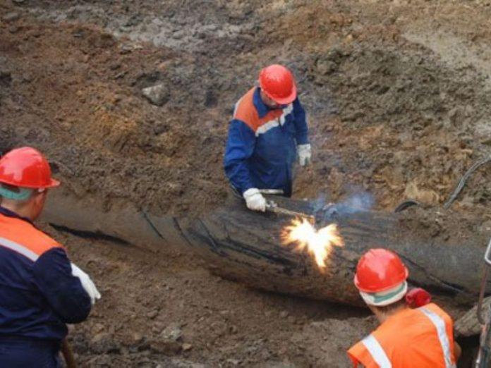 В Донецкой области отремонтировали поврежденный водопровод