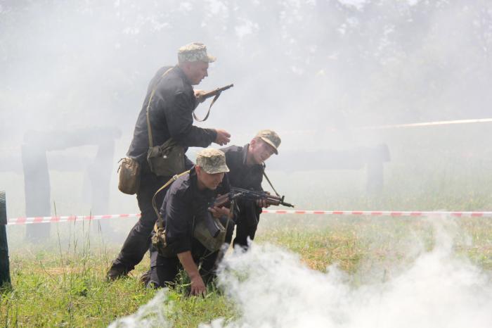 В Донецкой области прошли соревнования на лучший танковый экипаж