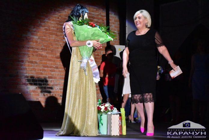 Неля Штепа присутствовала на конкурсе красоты