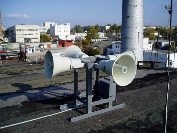 20 июня в Горловке пройдет квартальная проверка систем оповещения