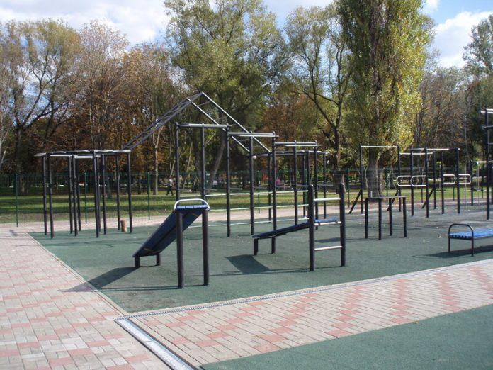Спортивный городок в Северодонецке