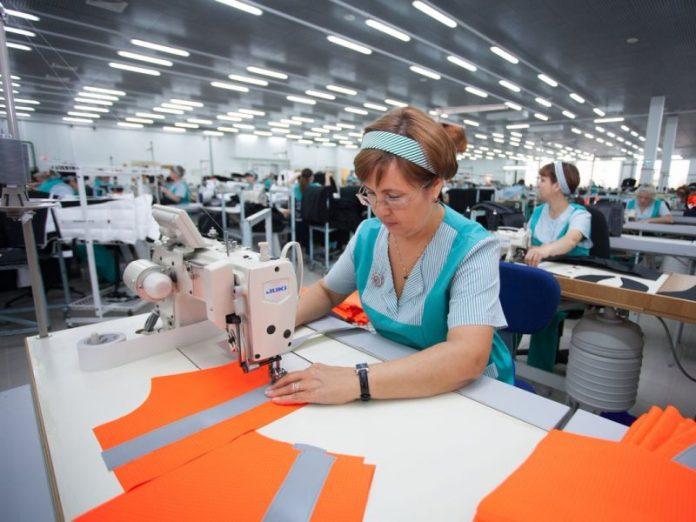 В Горловке открылся цех по производству спецодежды