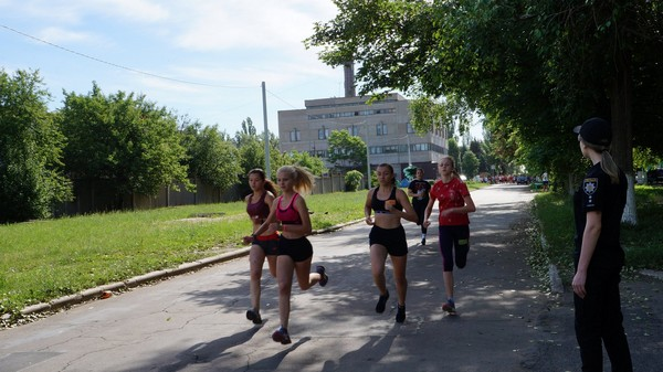 Легкоатлетический забег в Угледаре