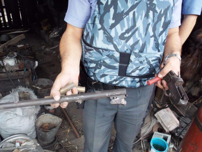 У жителя Краматорска изъяли арсенал оружия