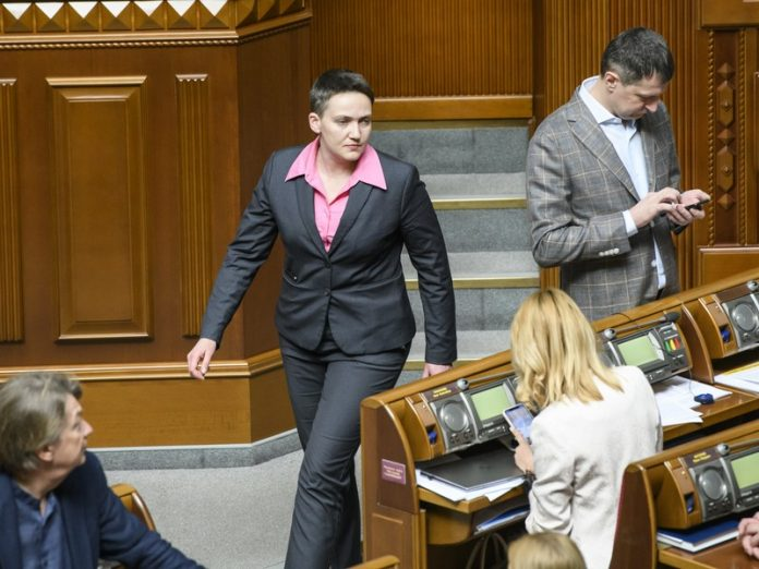 Надежда Савченко заявила о намерении посетить ДНР