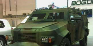 """ВСУ приняли на вооружение новый бронеавтомобиль """"Барс - 8"""""""